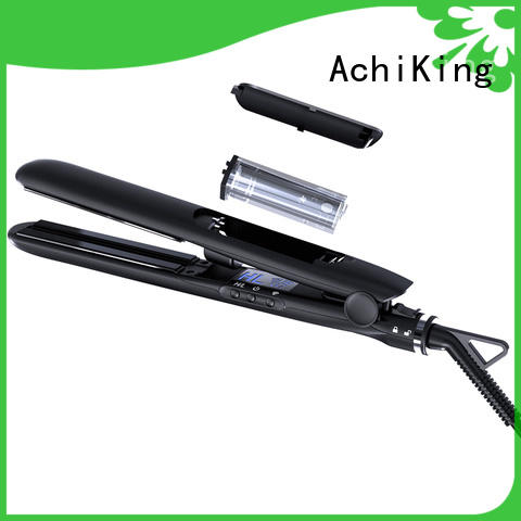AchiKing flat iron straight hair series for dressing room
