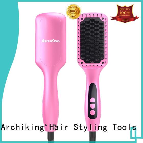 ceramic hair straightener brush heat straightening comb ceramic company