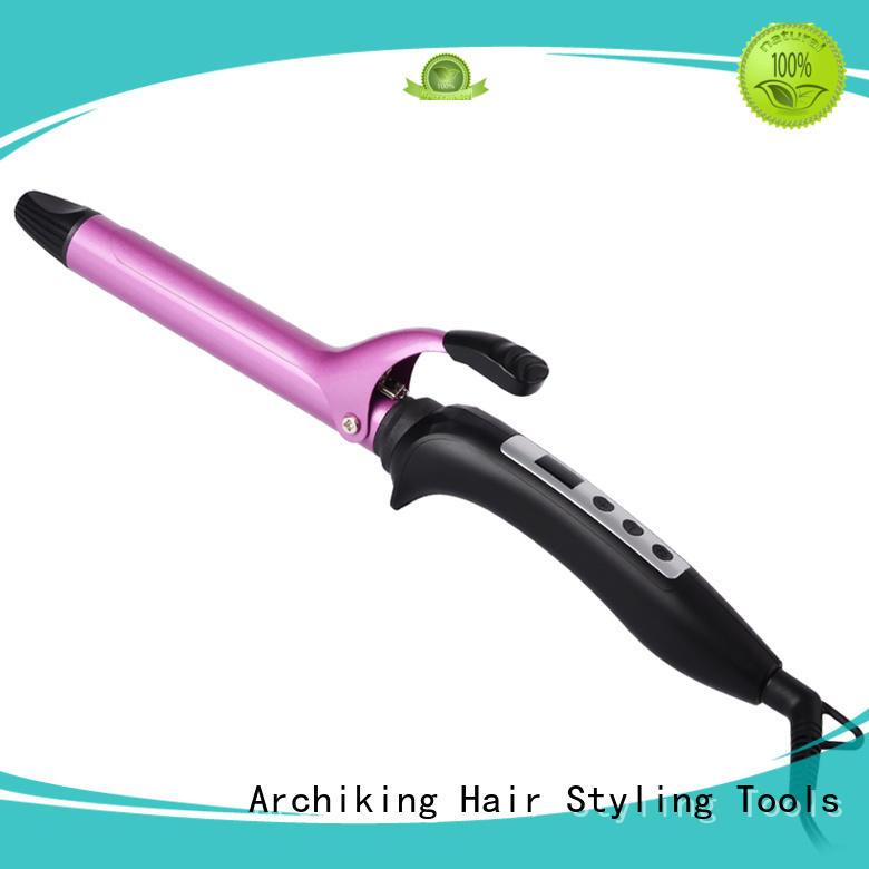 Custom titanium wand curling iron ultrasonic AchiKing