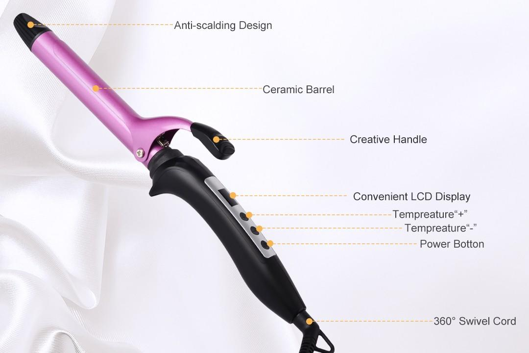 Hot Selling Salon Equipment Ultrasonic Hair Curling Iron CH03