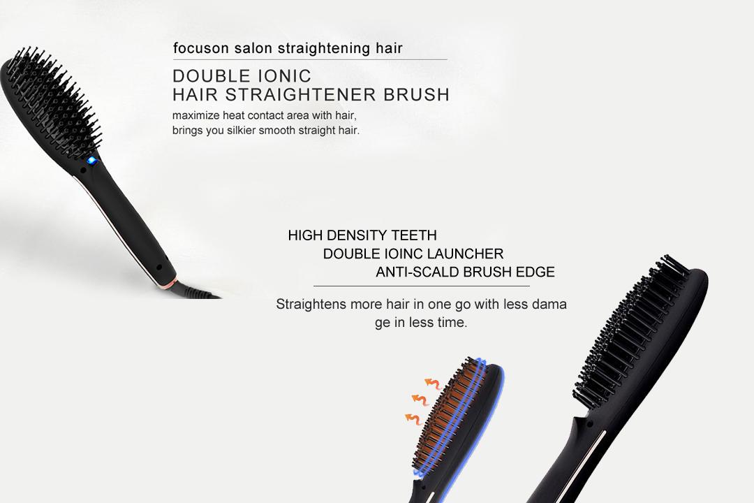 AchiKing digital straighten brush factory price for household-2