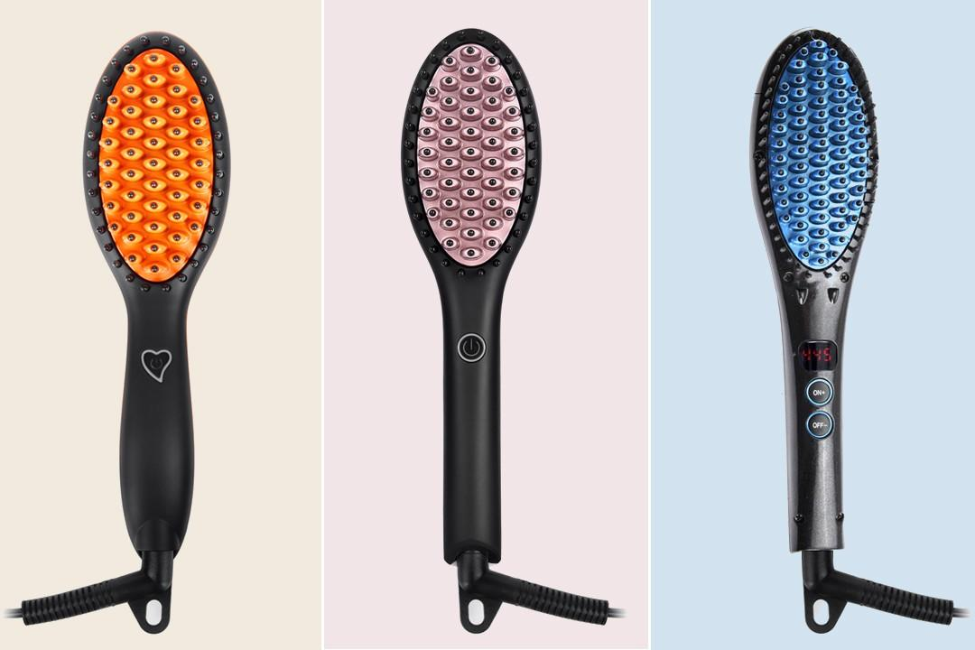 AchiKing electric hair brush straightener wholesale for home-2