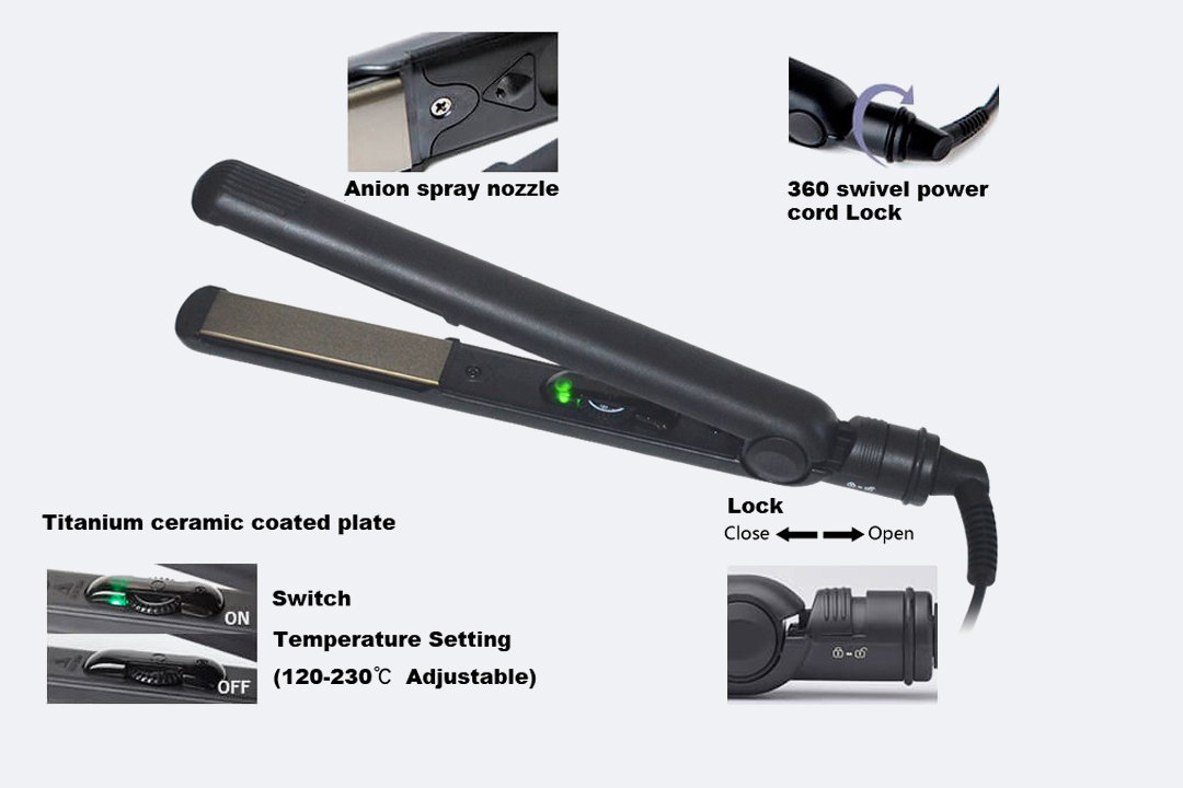 durable small hair flat iron series for dressing room-3
