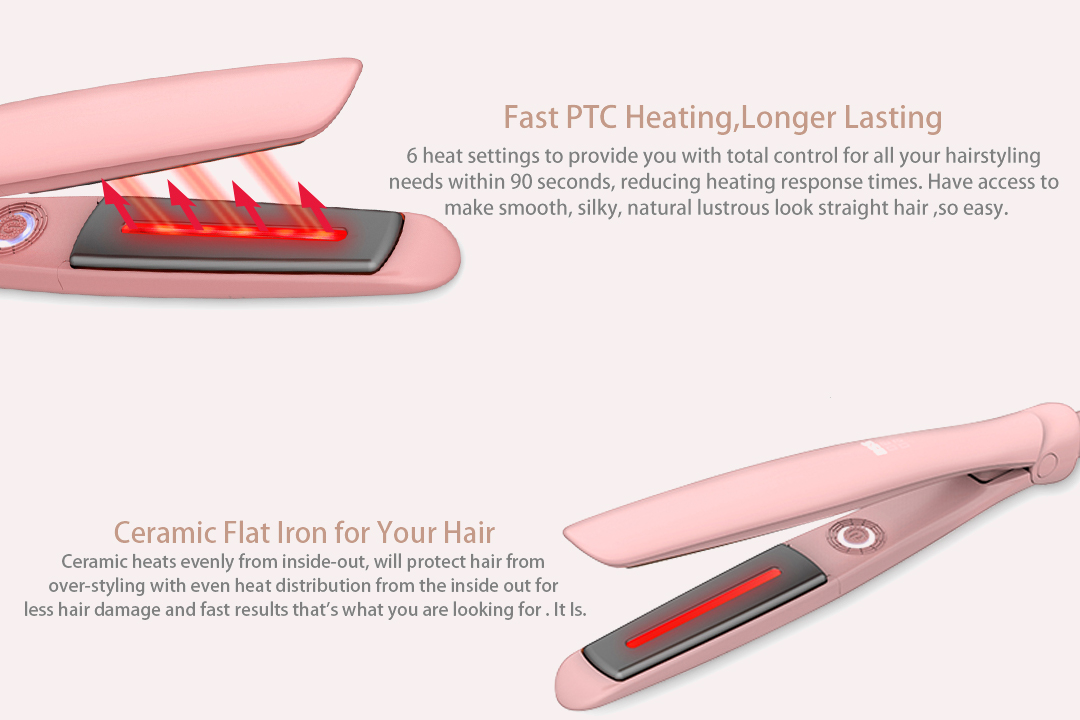 heatproof best hair flat iron manufacturer for home-4