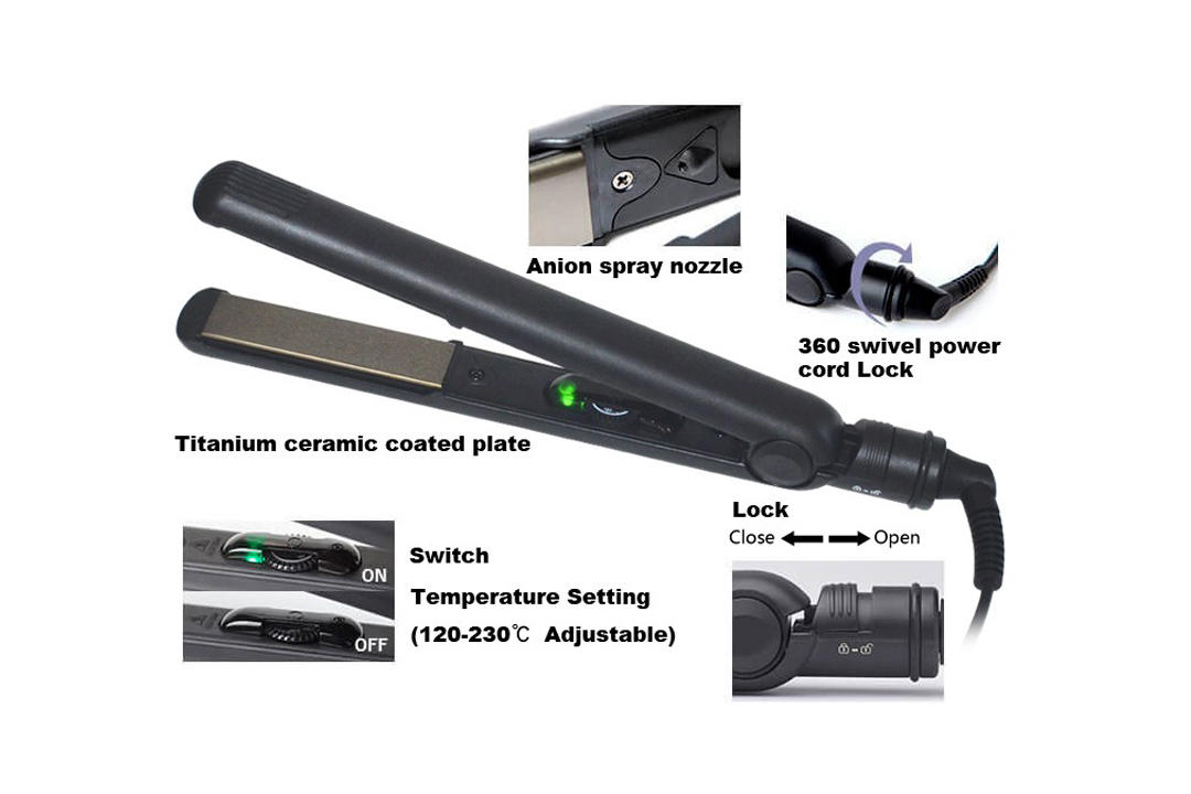 AchiKing hot selling flat iron straight hair manufacturer for beauty salon