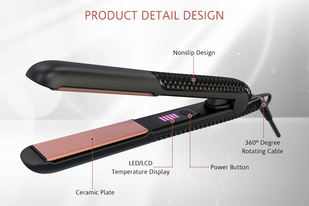 AchiKing hot selling professional hair flat iron customized for beauty salon-2