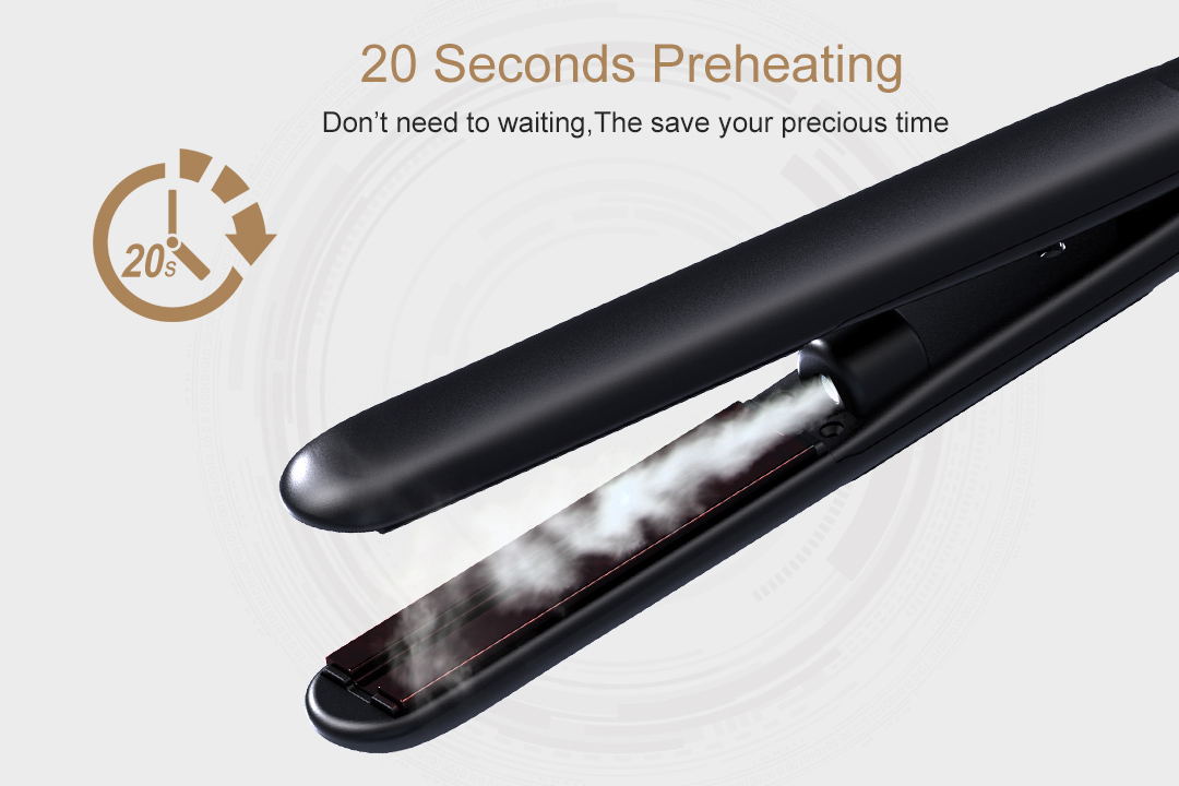 AchiKing reliable flat iron hair straightener customized for beauty salon-5