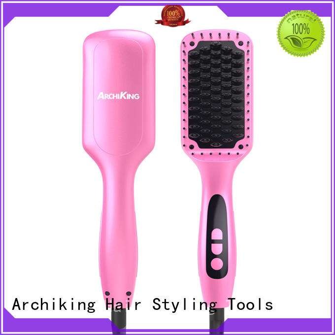 japanese hot brush hair straightener supplier for home AchiKing