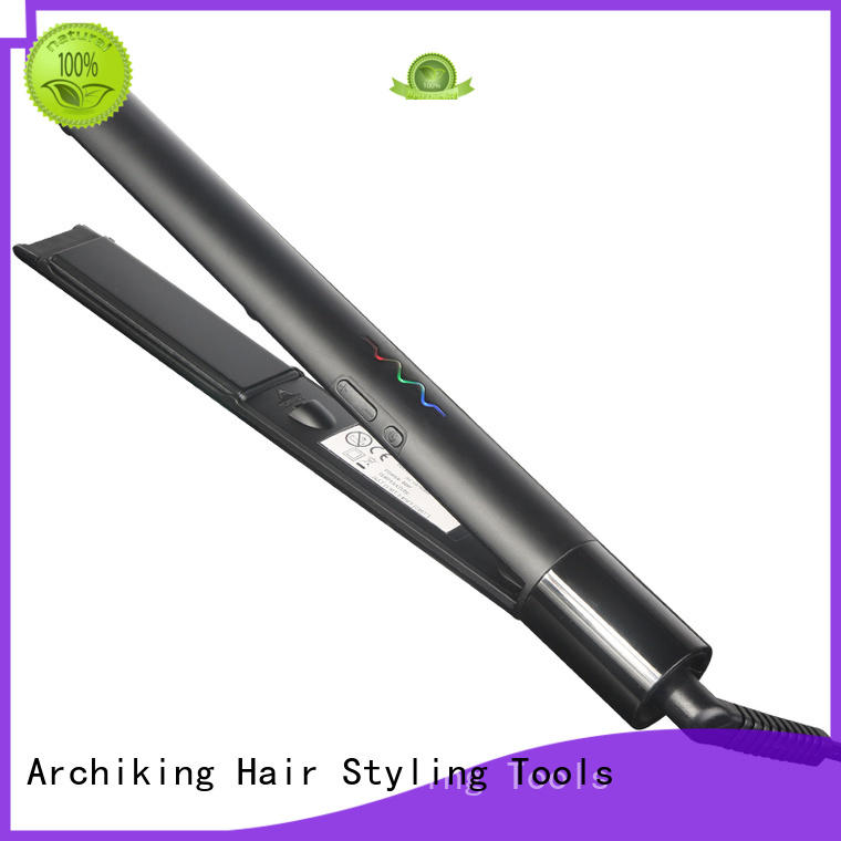 AchiKing hair ceramic flat irons customized for household