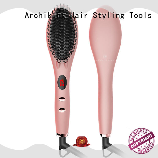 AchiKing flat straightening comb personalized for beauty salon