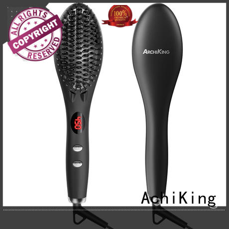AchiKing ionic hair curling tools customized for home