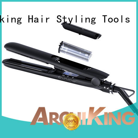 electric infrared treatment electronic AchiKing Brand curl hair with flat iron manufacture