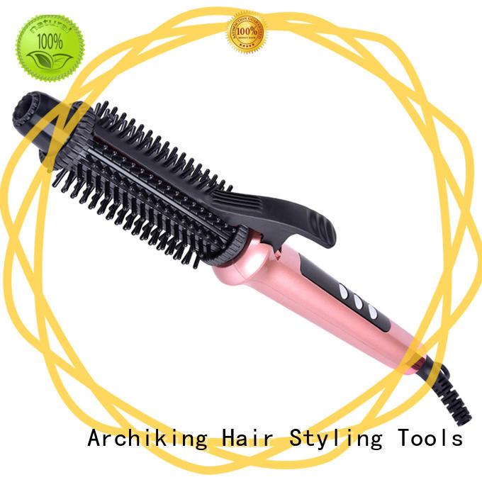Professional Rotating Cable Hair Curling Iron Rotator Hair Brush HC002