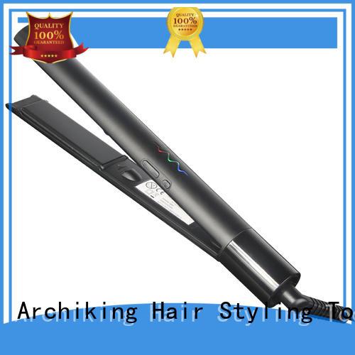 straighteners hair ceramic flat irons customized for dressing room AchiKing