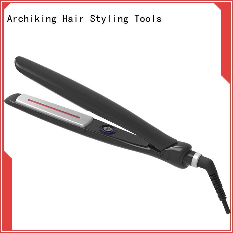 heatproof flat iron hair straightener directly sale for household