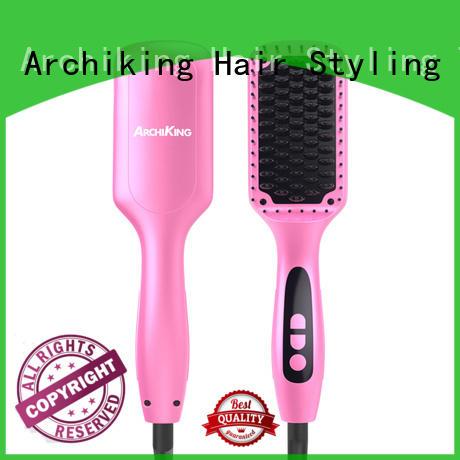 digital best hair straightening brush wholesale for dressing room