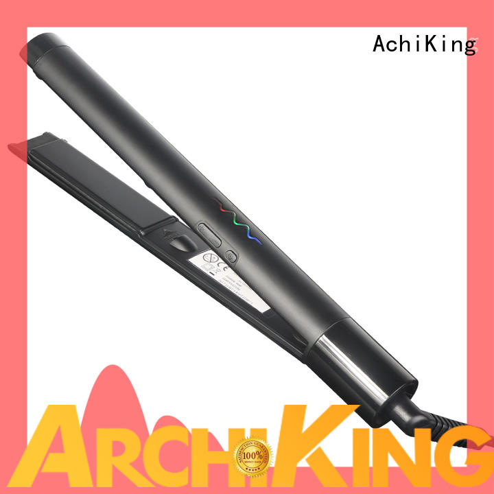 durable curl hair with flat iron series for beauty salon AchiKing