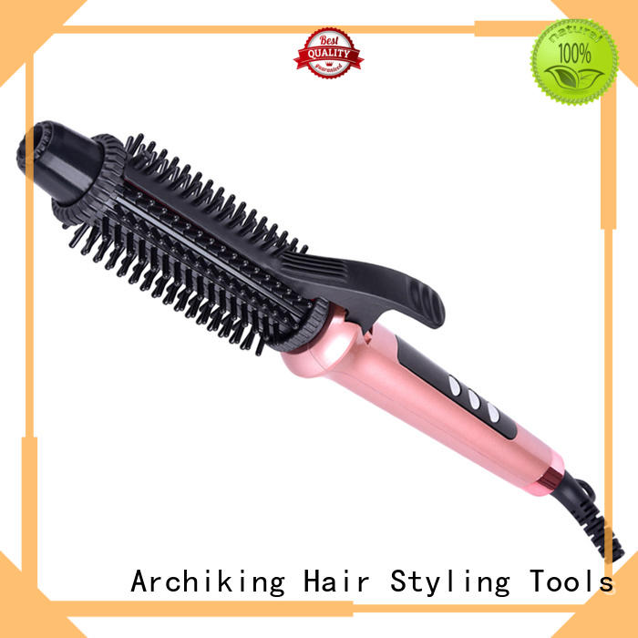 hottest brush selling wand curling iron AchiKing Brand company