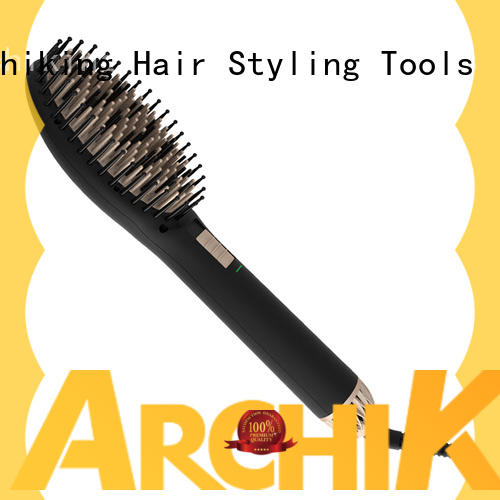 AchiKing straightening best electric hair straightening brush personalized for household