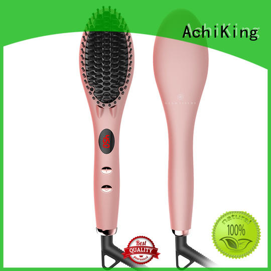 Wholesale personalized straightening comb AchiKing Brand