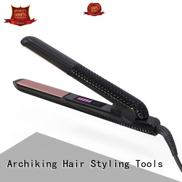 AchiKing flat iron hair straightener from China for dressing room