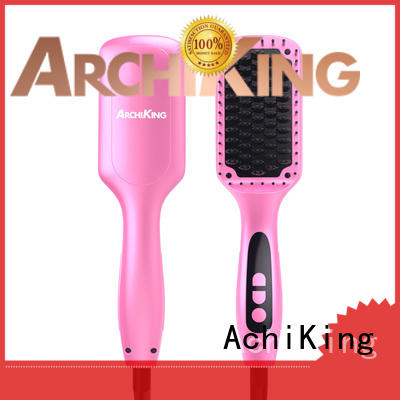 AchiKing Brand anti scald combs straightening comb manufacture