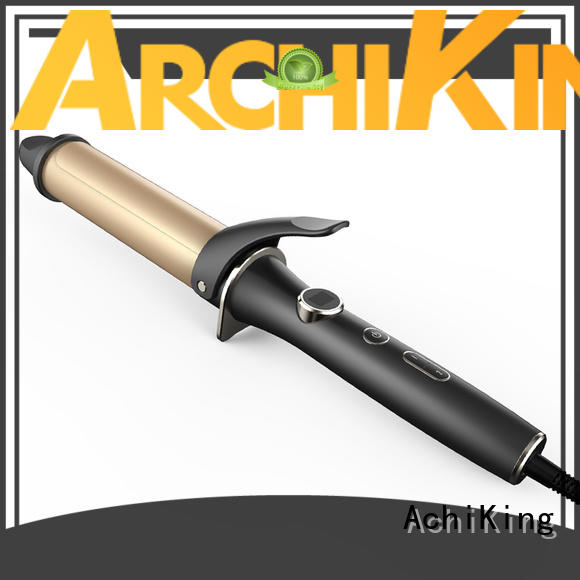Quality AchiKing Brand ultrasonic wand curling iron