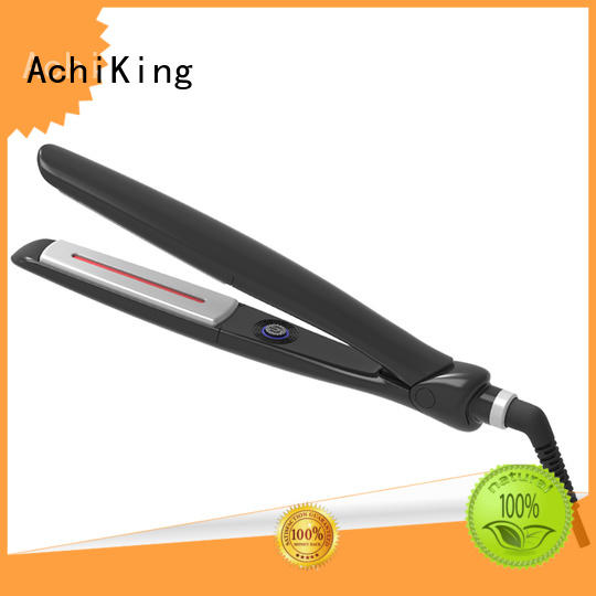 AchiKing hot selling hair ceramic flat irons purple for household