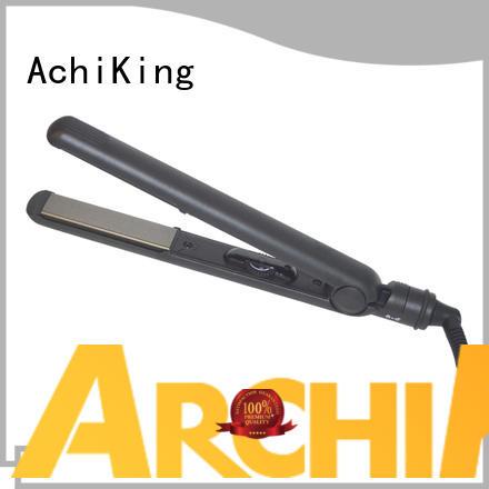 electric ultrasonic exclusive hair flat iron ceramic AchiKing
