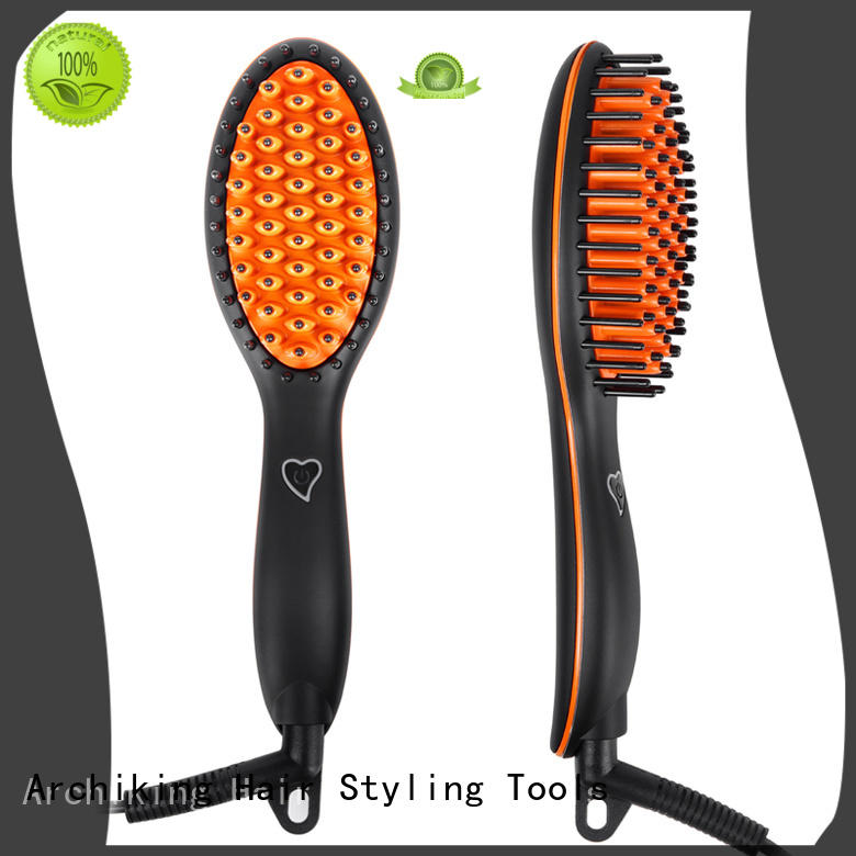 AchiKing digital straightening comb factory price for household