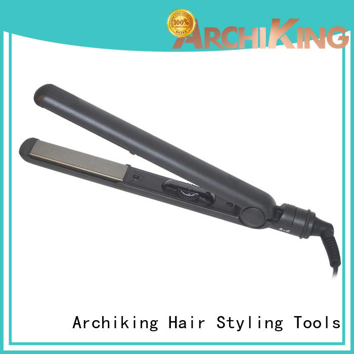 curl hair with flat iron care straightener curling AchiKing Brand hair flat iron