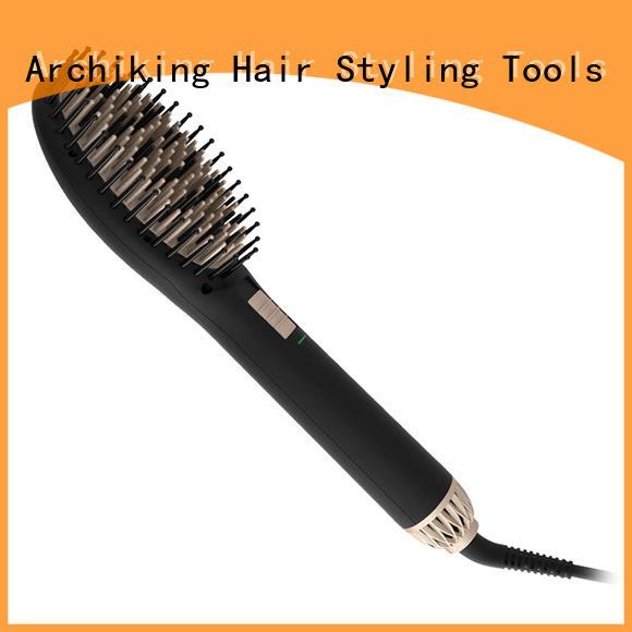 flat straighten brush supplier for household