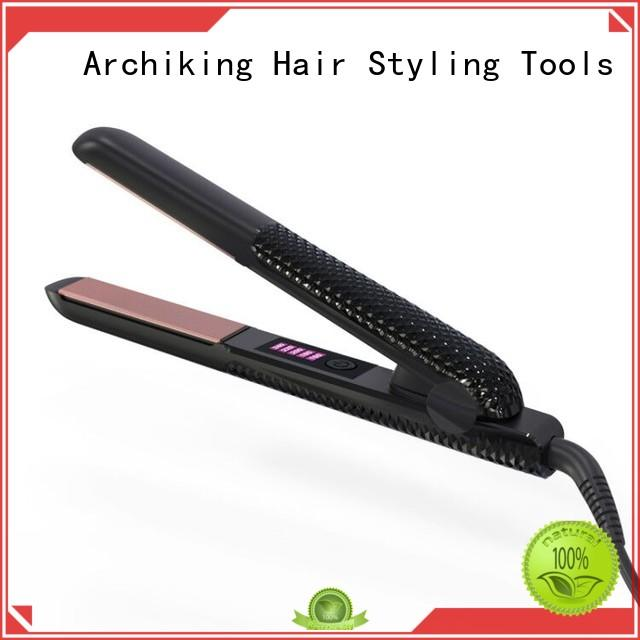 AchiKing Brand curly styler curl hair with flat iron electric