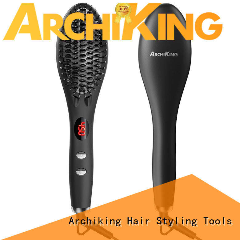 hair curling tools lcd display electric hair styling tools patented AchiKing Brand