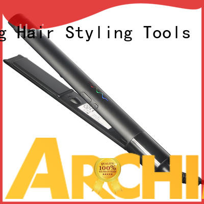 heatproof flat iron straight hair customized for beauty salon