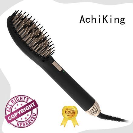 AchiKing best hair straightening brush personalized for dressing room