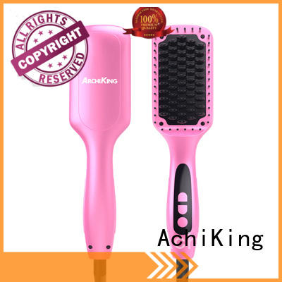 AchiKing digital hair straightener comb supplier for home