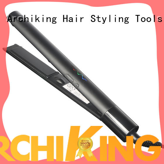 v189 curl hair with flat iron directly sale for home AchiKing