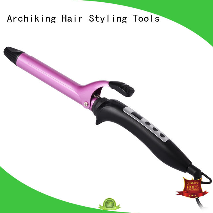 ceramic curling iron cable selling wand curling iron curler AchiKing Brand