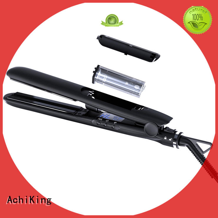 AchiKing hot selling small hair flat iron customized for beauty salon