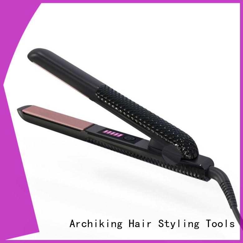 durable flat iron hair straightener series for dressing room