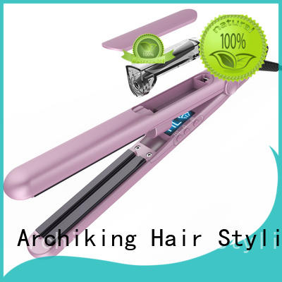 AchiKing quality flat iron straight hair customized for dressing room