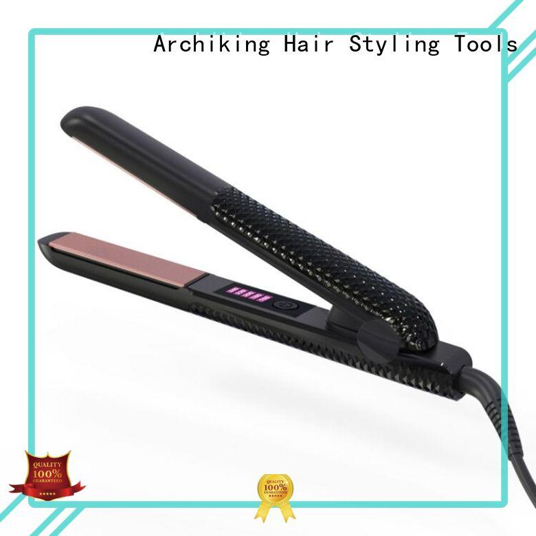 AchiKing steam hair ceramic flat irons manufacturer for dressing room
