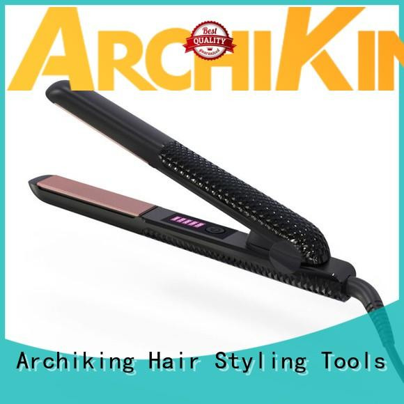 Fast PEC Heater Anit Heating Handle Electronic Hair Straightener Flat Iron V039