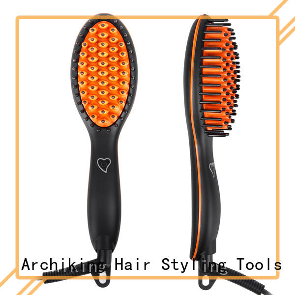 AchiKing digital hair straightener comb factory price for home
