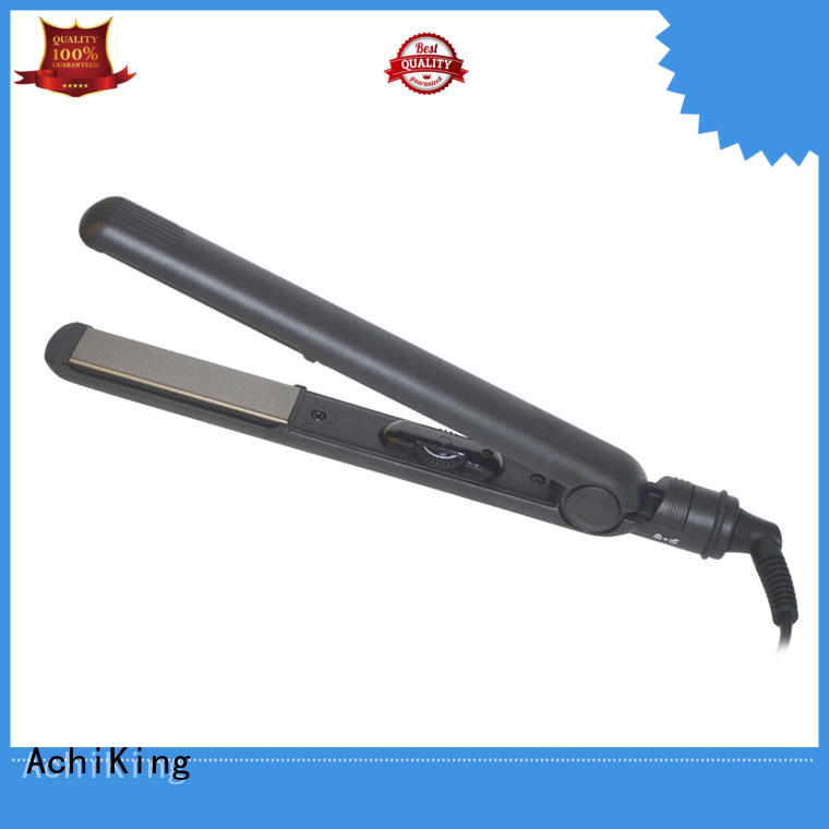 Wholesale curling curl hair with flat iron electronic AchiKing Brand