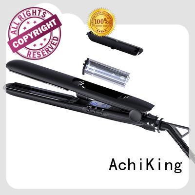 AchiKing heatproof flat iron hair straightener from China for home