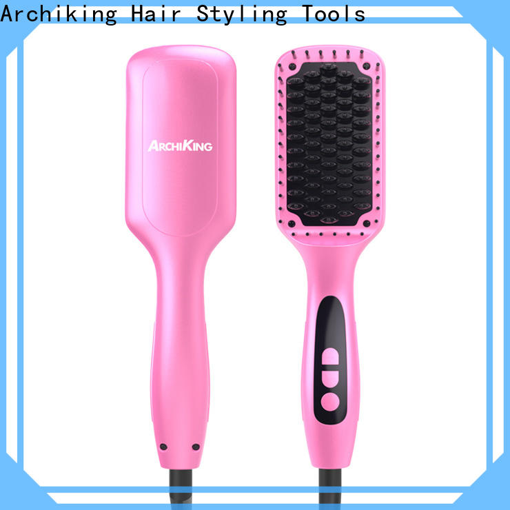 AchiKing hair straightener comb factory price for dressing room