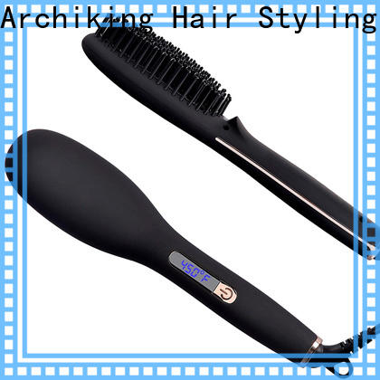 AchiKing best electric hair straightening brush personalized for beauty salon