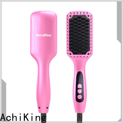 flat straighten brush personalized for home